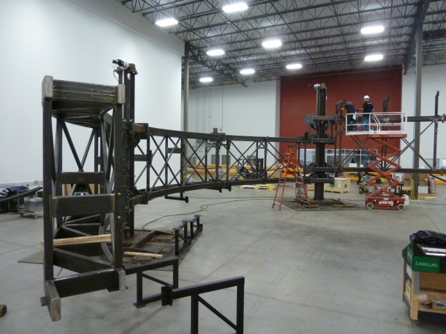 Automated Steel LED Structure