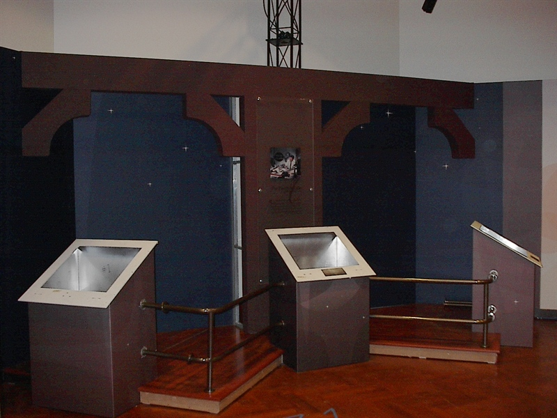 Disney Museum Tour Displays