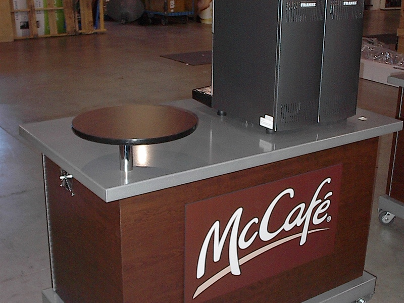 McDonalds Product Service Cart